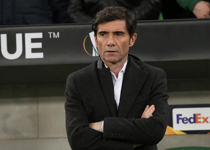 Marcelino, de recent ontslagen coach van Valencia.