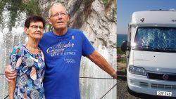Dieven stelen mobilhome in Frankrijk, tachtigers Guido en Gilberta blijven achter in strandkledij