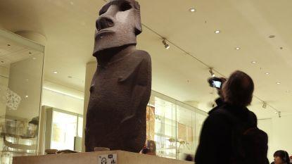 """Paaseiland wil moai terug: """"Alsof wij je grootvader zouden meenemen om in onze living te zetten"""""""
