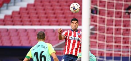 Suárez kent droomdebuut bij Atlético: twee goals en een assist