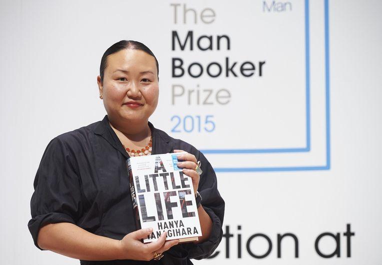Hanya Yanagihara, auteur van 'A Little Life' Beeld afp