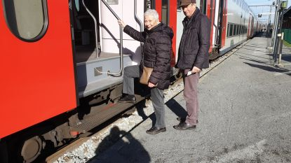 Snel meer comfort voor Turnhoutse pendelaars: hogere perrons, tegels en overdekte zitbanken