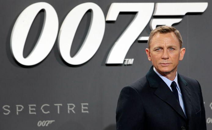 """Daniel Craig, à la sortie de """"Spectre"""", en 2015."""
