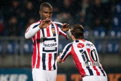 Croux en Oularé helpen Willem II aan driepunter tegen Go Ahead