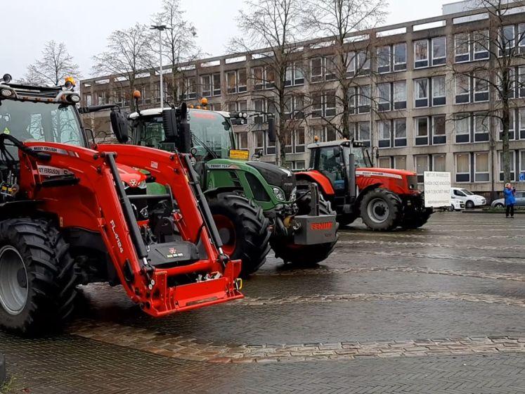 Boeren laten weer van zich horen in Arnhem