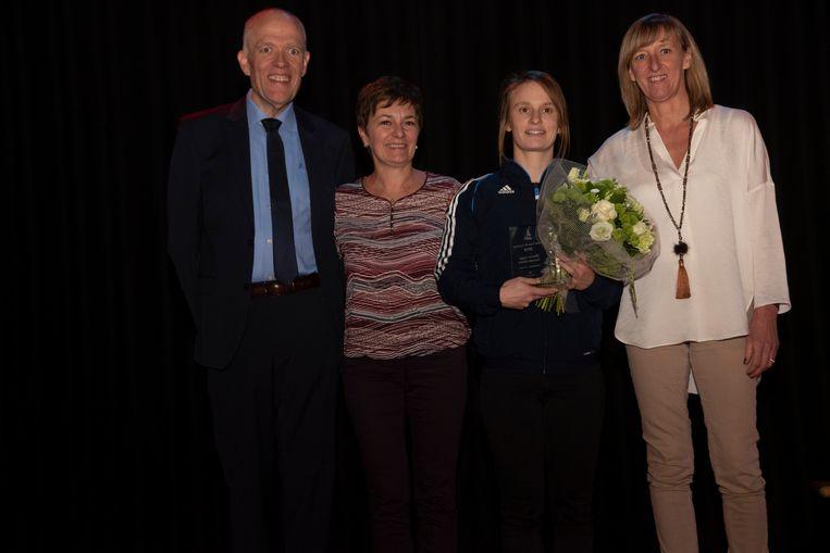 Ellen De Jonge wint Trofee Yves De Lausnay