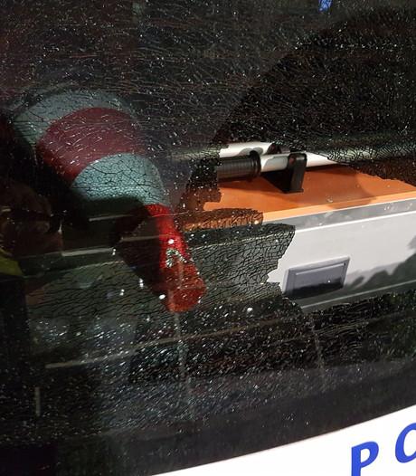 Cynisch bedankje politie Vlaardingen na vernielen auto