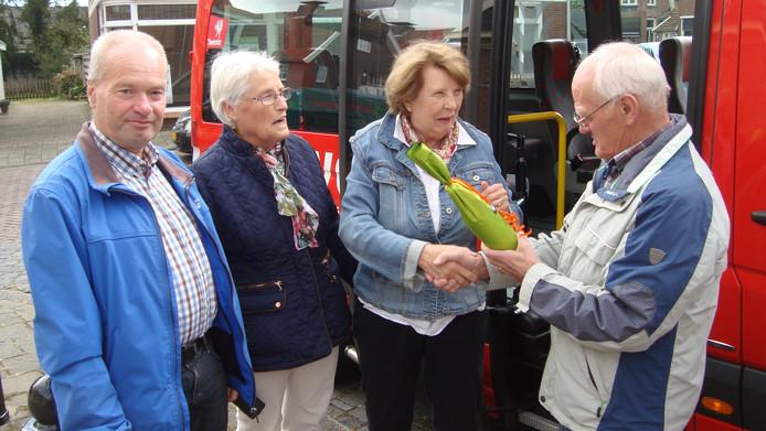 Jeane Noest heeft de laatste kilometers als chauffeur van de buurtbus gereden
