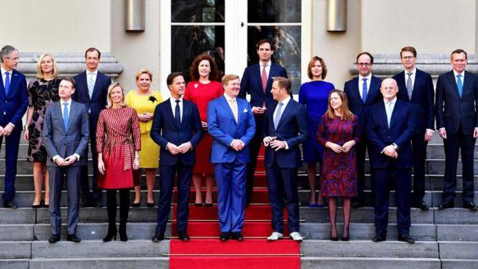 Het nieuwe kabinet Rutte III.