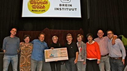 Humoravond van Marc, Dany en Patrick brengt ruim 4.000 euro op voor Brein Instituut