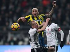 Besiktas blijft in titelrace na zege tegen 'Fener'