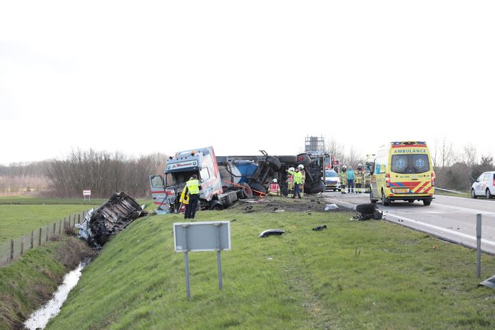 In april van dit jaar kwam op de N36 nabij Diffelen een bestuurder uit Almelo om het leven.