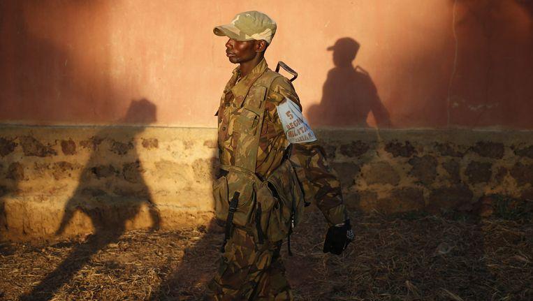 Een Séléka-rebel.
