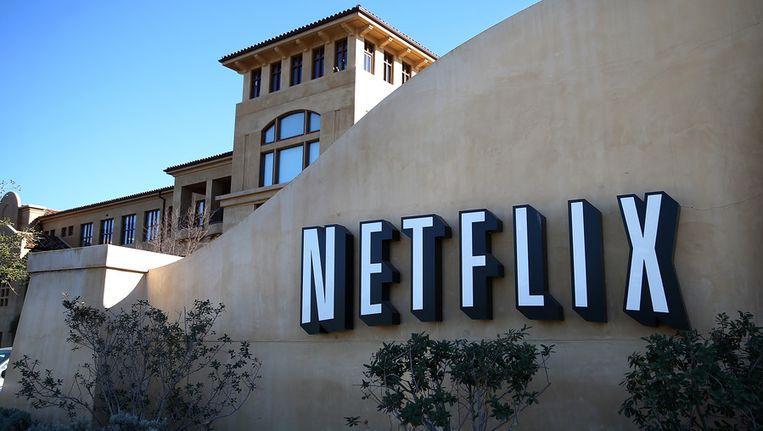 Hoofdkantoor van Netflix in Los Gatos, Californië. Beeld getty