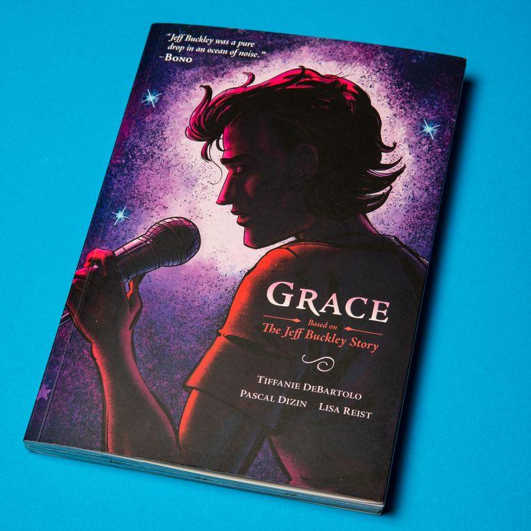 De graphic novel Grace: The Jeff Buckley Story Beeld