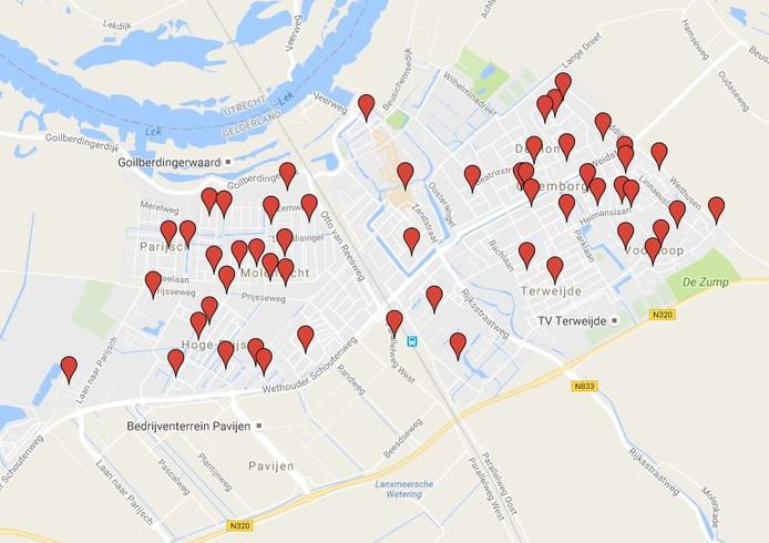 In Culemborg zijn 55 buurtpreventie-groepen aangemeld.