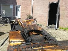 Weer brand in berging Moerbeistraat; geen onderzoek politie