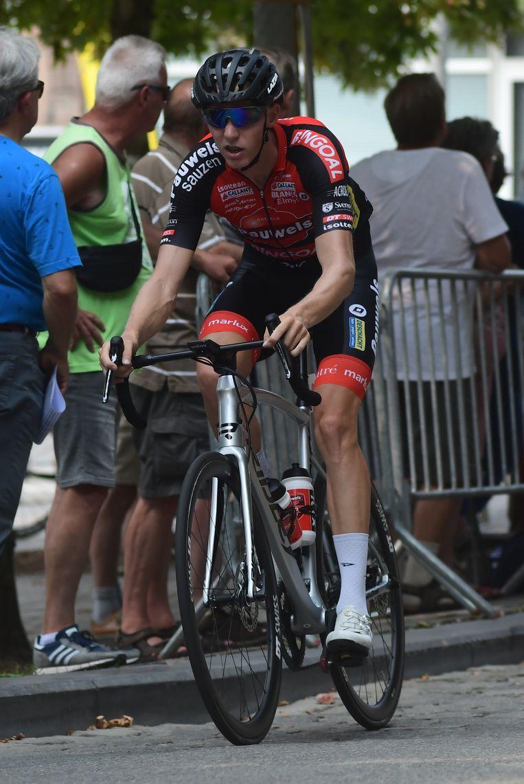 Michael Vanthourenhout in actie.