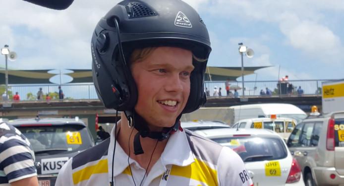 Bram Lomans is een van de drivers van de Stella Vie tijdens de World Solar Challenge.