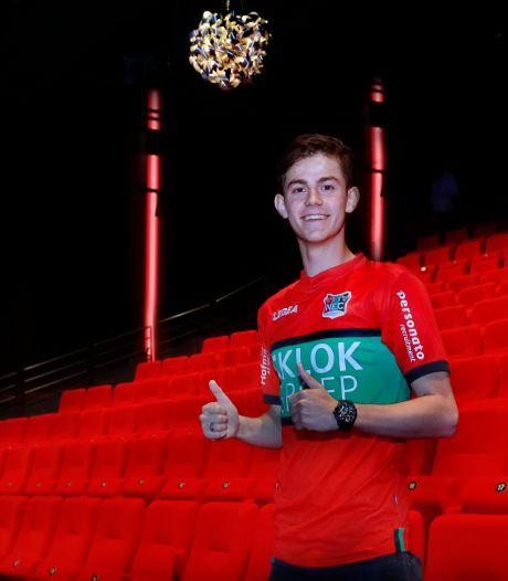 'Mathias de Wolf op 1 december op het veld bij NEC, Tavsan vorig seizoen al gevaarlijker dan Musaba'