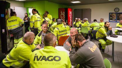 Vuilnisophalers leggen spontaan het werk neer in Gent