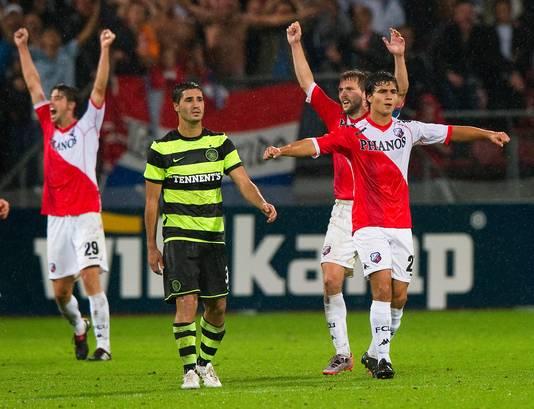 FC Utrecht won op 26 augustus 2010 met 4-0 van de Schotse topclub Celtic.