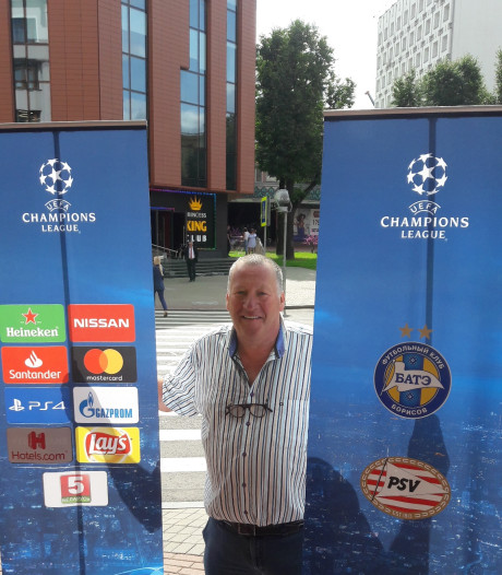 Supporters hebben vertrouwen in PSV in Wit-Rusland