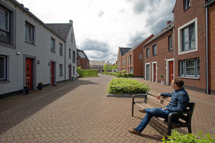 Beeld van een andere nieuw wijk in Teteringen, de Bouverijen.