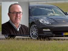 Wegpiraat in Porsche reed met snelheid van een hogesnelheidstrein