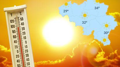 Zomervakantie start met tropisch warm weekend, maar mogelijk toch geen hittegolf