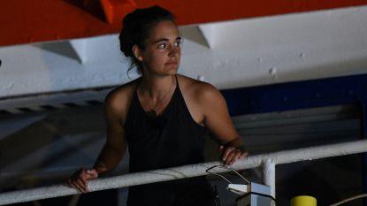 """Vervolgde kapitein Sea-Watch: """"Mijn zaak mag aandacht niet afleiden van humanitaire crisis"""""""