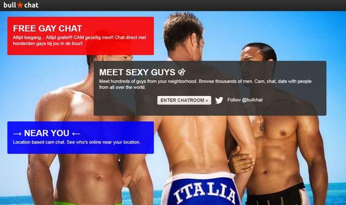 Screenshot van de website Bullchat.
