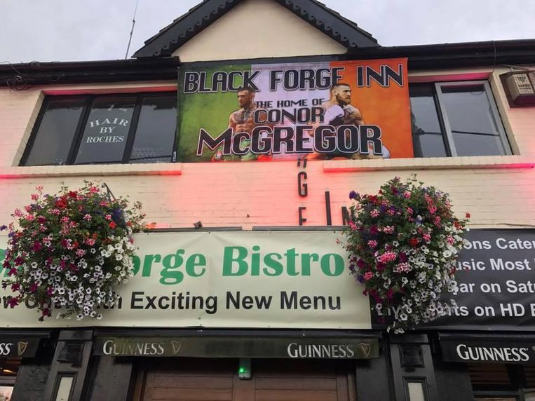 De Black Forge Inn is inmiddels de bekendste pub in Ierland.