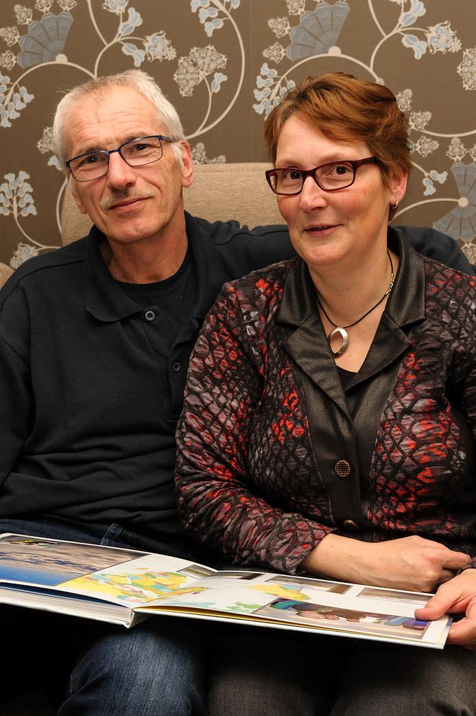 Leo en Sandra van Poortvliet uit Sint Annaland.