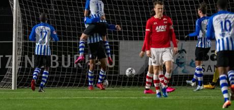 Samenvatting | FC Eindhoven rekent bij Jong AZ overtuigend af met uitsyndroom