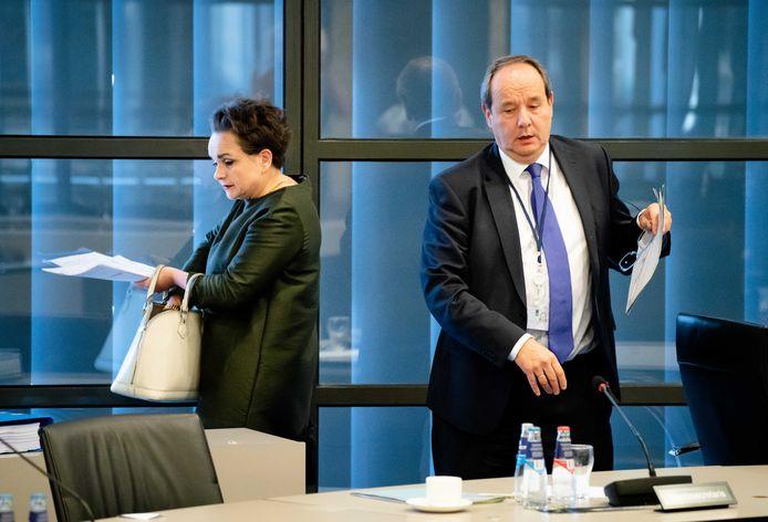 Staatssecretarissen Alexandra van Huffelen en Hans Vijlbrief van Financiën.