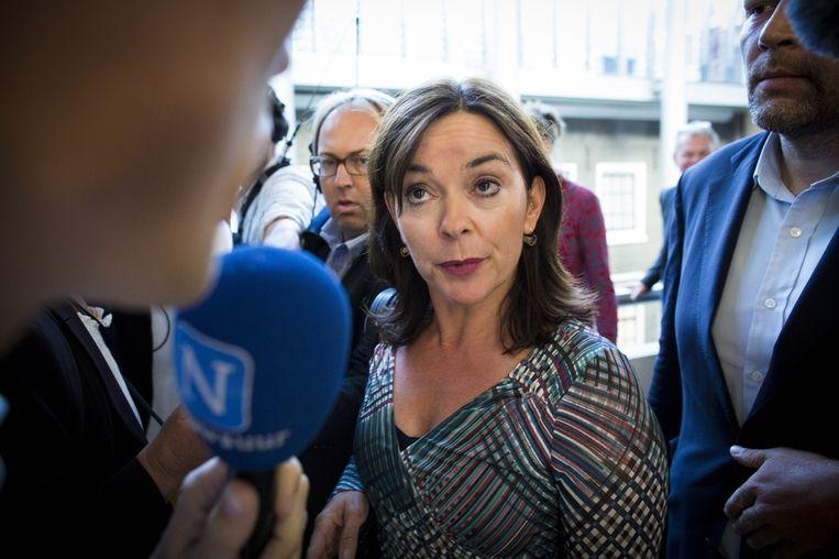 GroenLinks-fractievoorzitter Jolande Sap. Beeld anp