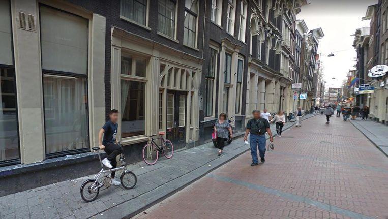 Een deel van de Warmoesstraat (foto dient ter illustratie) Beeld Google Streetview