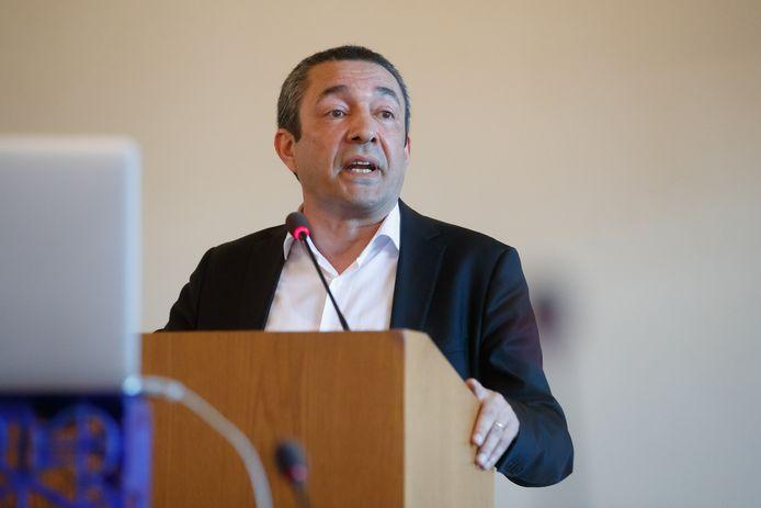 Aydin Akkaya, fractievoorzitter GBWP.