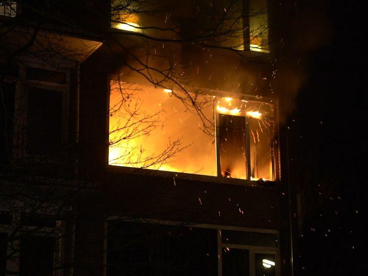 Uitslaande brand in Deventer: appartement compleet verwoest