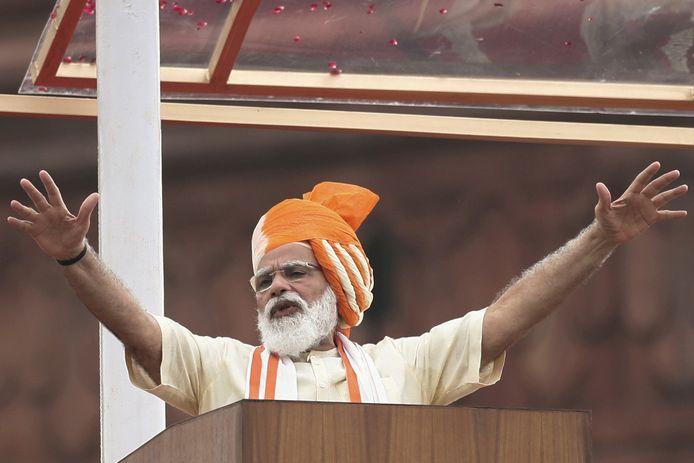 De Indiase premier Narendra Modi.