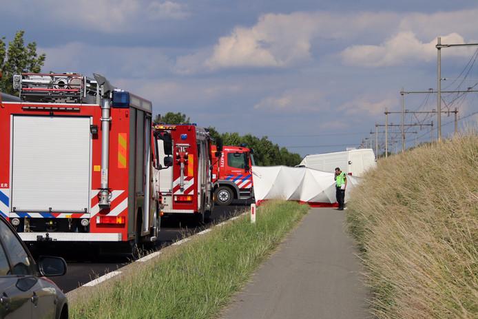 Ongeluk op de N289