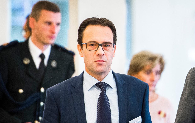 Frederik Delaplace Beeld BELGA