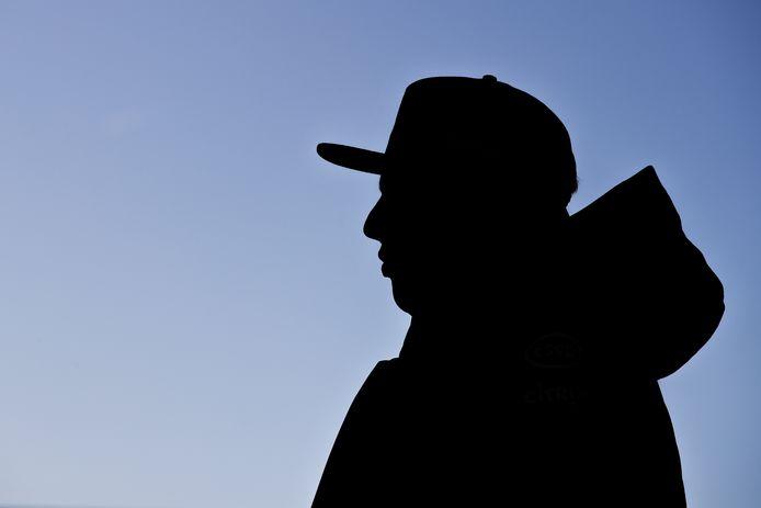 Max Verstappen, vorige week op het circuit van Silverstone, waar hij al wat rondjes reed in de nieuwe RB16.