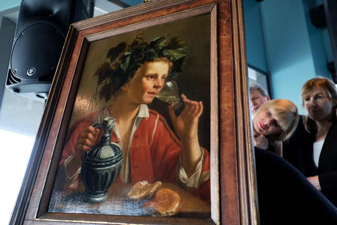 'Jongeman als Bacchus' is een van de vierhonderd werken die Max Stern gedwongen moest verkopen.