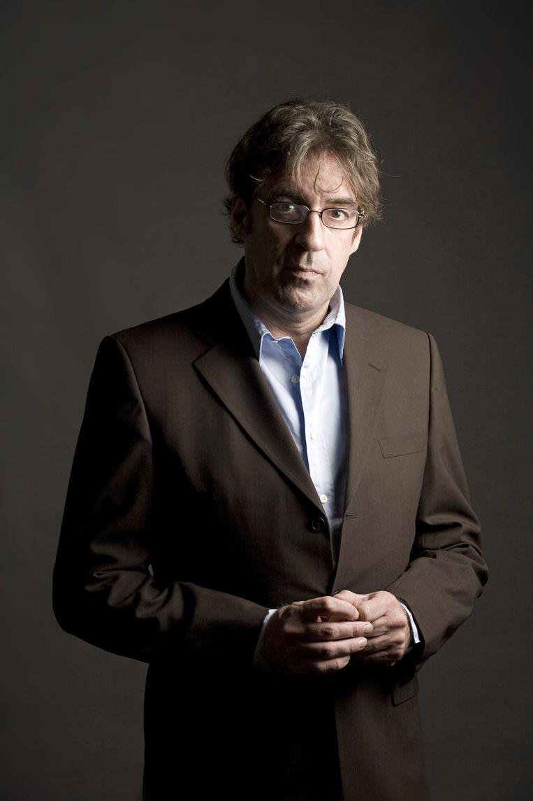 Joost Zwagerman in 2009 Beeld Peter Boer/Hollandse Hoogte