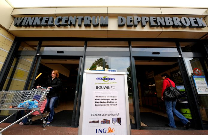 Winkelcentrum Deppenbroek, archiefbeeld.