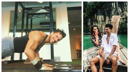 SHOWBITS. Damiano kweekt spieren en Lize en Aster zitten in Maleisië
