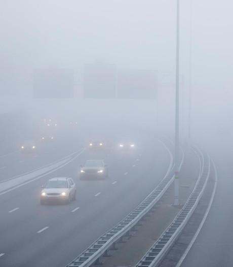 Verkeersdiensten: opgepast voor dichte mist