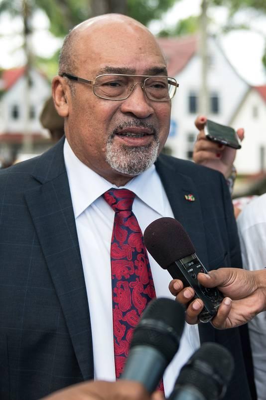 President Desi Bouterse van Suriname.